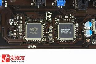 控晶片,ASM1083 PCIe to PCI桥接晶片   Realtek ALC887音效晶片组 ...