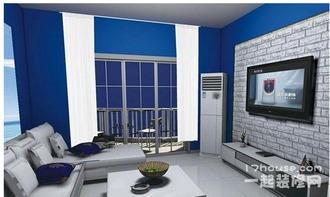 地中海风格装修图 地中海风格客厅效果图