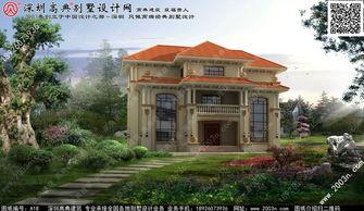 漂亮实用的三层农村小别墅效果图