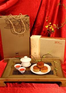 石家庄希尔顿酒店 希尔顿25周年精美月饼礼盒