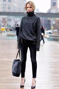 白绫恨彩色插图本-宽松版的高领毛衣就不像紧身版那么势利苛刻了,不管你是胖MM还是...