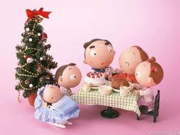 泥偶家族圣诞节