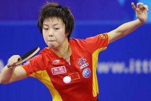 日 2007年国际乒联职业巡回赛总决赛今天在北京继续进行,在女子单...
