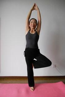 俺练瑜伽三年啦