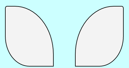 nsform:rotate(15deg); 旋转一点,耳朵就塌下来了.   3.然后是头发:...