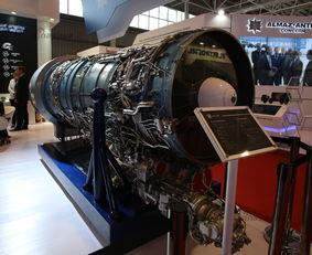 赶紧卖中国吧 俄罗斯在华展示F117S矢量发动机