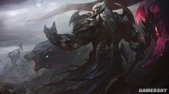 ...狮和神王诺手的狂狼对吼的图案,剑拔弩张的风格十分契合主题.-...