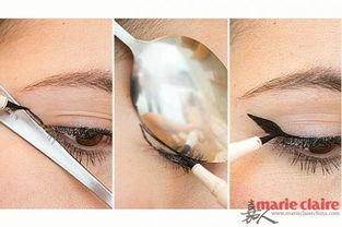 帮学姐的忙通肛门-7.借助汤匙的帮助来描绘小翅膀眼线   熟能生巧,若学会合理的利用手...