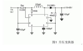 MC34063a升降压的典型电路中 输出电压是怎么算的.