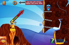 重新开始关卡-尽情挑战愤怒小鸟 iPhone游戏怪物之岛