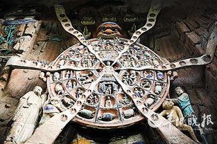 六道轮回图-重庆大足石刻 与石俱在的永恒艺术