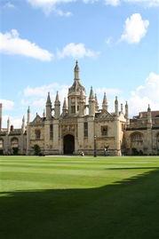 英王学院(内部)-又见康桥 剑桥印象 一
