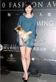 红蓝av-桂纶镁 蓝色连衣裙*红底高跟鞋-艳色当道 一抹亮色好品味