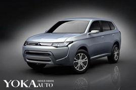 三菱发布的SUV概念车PX-MiEV II-向油耗宣战 三菱发布PX MiEV II概念...