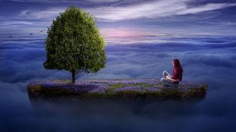 一个人孤独的背影图片