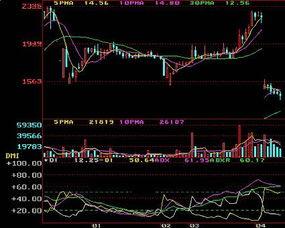 股票知识,技术分析,DMI指标使用入门 图