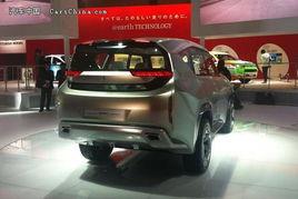 ...示新设计理念 三菱全新概念车首发亮相