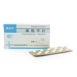 【药品说明书】奥氮平片