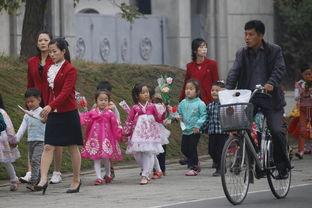 实拍朝鲜劳动党成立70周年前夕的平壤 高清组图