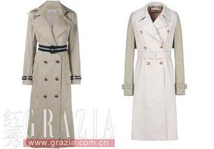 ...zi外套 右:Stella McCartney风衣外套-春季穿外套 测测你最适合哪款...