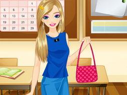 (单人游戏)   学校的乐趣小游戏打包下载   学校的乐趣   装扮   ABAB...