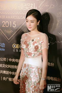 ...第六届中国原创视频的年度盛宴-G客盛典.当天,秦岚以一袭色彩缤...