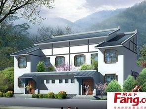 传统中式农村三层房屋设计图