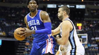 NBA季前赛集锦_20161012_康利17分恩比德13分 灰熊121-91屠76人-...