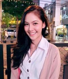 这个泰国姑娘,有种女版陈伟霆的既视感