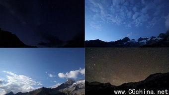 夜空夜景黄昏星空高清实拍视频素材合辑,Artbeats Nightsky HD