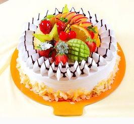 祖国妈妈生日快乐,水果蛋糕制作活动