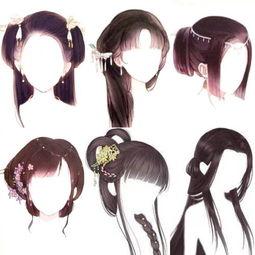 古风发型-璞艺美型化妆培训的美拍
