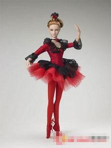 美轮美奂的芭蕾女孩娃娃玩偶 图组