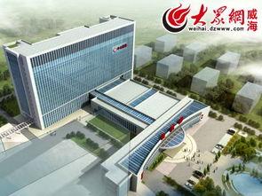 封顶仪式,预计2016年年底投入使用.   市中心医院新综合病房大楼建...