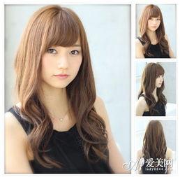发型设计与脸型搭配 变身小脸女神
