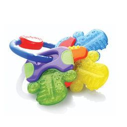 zhongbite-这款Nuby 努比 Icybite Hard/Soft 宝宝硅胶牙胶玩具在美亚同类中销量第...