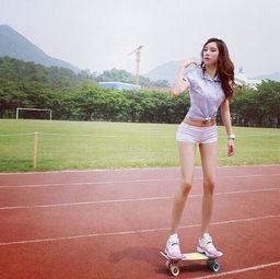 韩国 最美 体育教师走红 天使脸蛋魔鬼身材