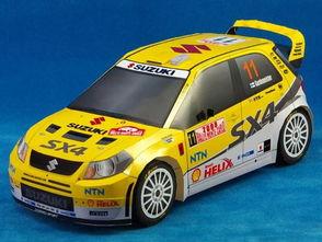 ...SX4 WRC赛车折纸模型图纸与教程免费下载