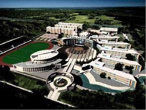 星者学院和众星殿-东北育才双语学校入口区景观设计