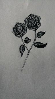 ...绘画史 4 黑玫瑰.黑色妖姬 汤圆创作