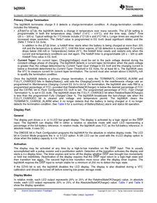 ...ents厂商 BQ2060A E619DBQG4 pdf预览第 16 页, datasheet数据手...