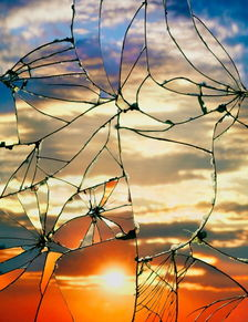 碎天镜-碎镜、以及傍晚的天空(Broken Mirror/Evening Sky)——由纽约摄影...