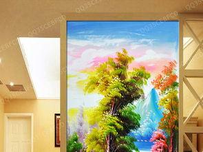 我图网-玄关风景油画 15698096 风景油画