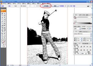 描摹的意思-图片转换成矢量图 原创 技巧 教程 golfart 设计文章 教程分...