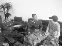 昨日,在沈阳市消防局沈河大队,回想训练的日子,中队代理副中队长...