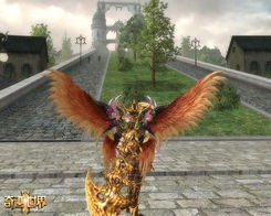 《奇迹世界2》炽天使之翼效果-奇迹世界2 飞行时代30日开启