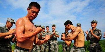 中国军人肌肉为什么没美国大兵那么多 现代化战争不需要肌肉男